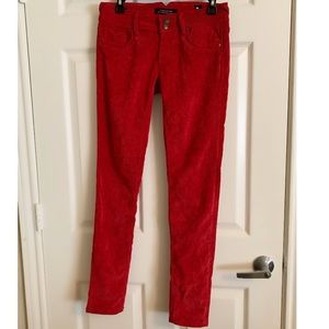 Vigoss Wine color Corduroy pants